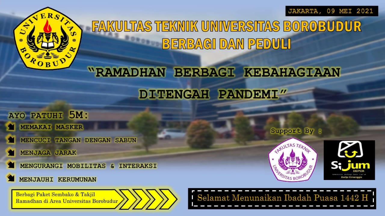 Ramadhan Berbagi Kebahagian Ditengah Pandemi