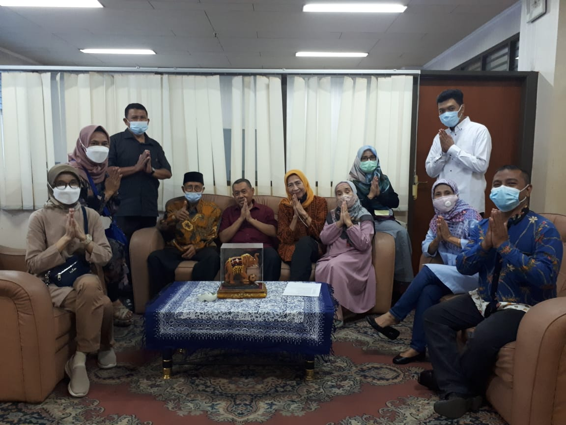 Halal Bihalal Sivitas Akademika Unbor, May 19, 2021